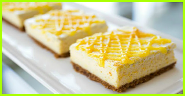 Tangy Lemon Cheesecake Bars Smartpoints 5 Weight