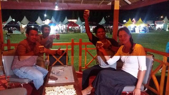 Kunjungi Luwu Expo, Turis Asal Italia Ini Puji Rasa Kopi Bisang