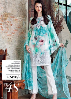 Gul Ahmed Eid Collection 2017-18 with Prices Catalog