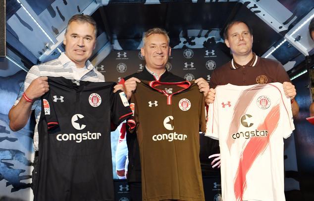 Foram apresentados os novos uniformes para a temporada 2016/17