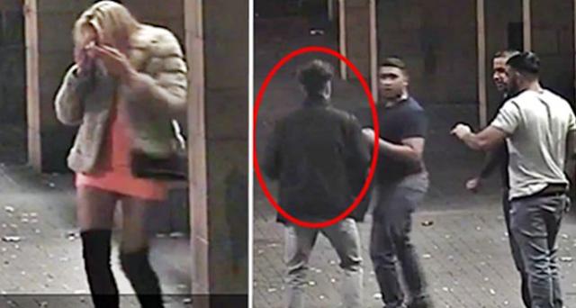 Τρεις δειλοί επιτέθηκαν σε μία κοπέλα επειδή φορούσε κοντή φούστα. Δείτε τι συνέβη μόλις εμφανίστηκε ο άντρας της!