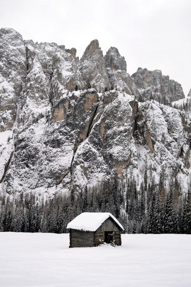 alta badia inverno neve se non si scia