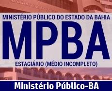 apostila Estágio MP BA 2017 - Concurso Ministério Público Bahia