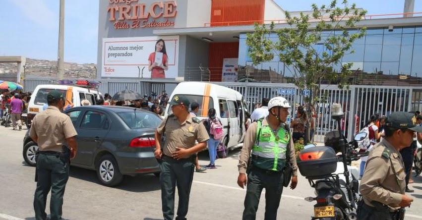 TRAGEDIA: Escolar dispara a compañero en colegio Trilce - Villa El Salvador