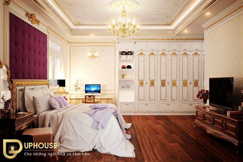 Phòng ngủ tân cổ điển đẹp 02