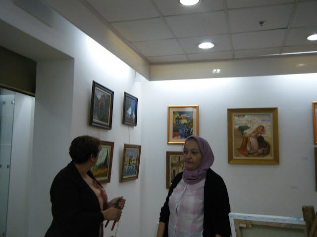 Préparatifs de l'expo de l'atelier artémisia 4