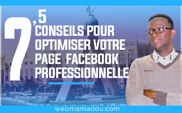 Comment optimiser une page Facebook Pro
