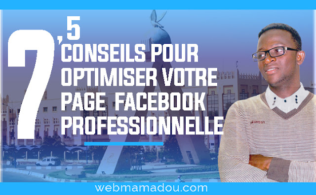 page  Facebook Professionnelle