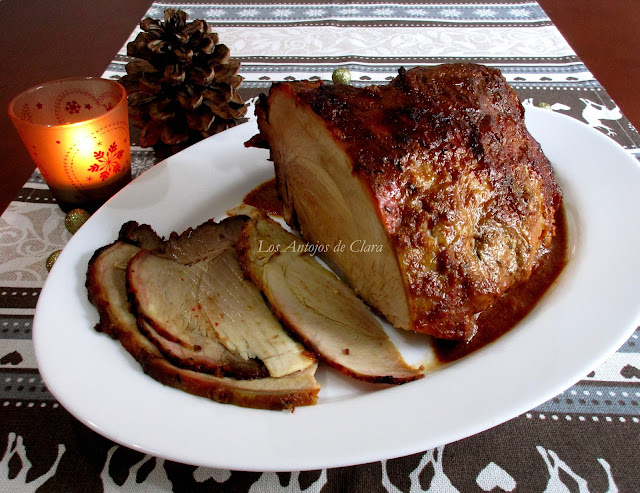 Pernil de cerdo al horno