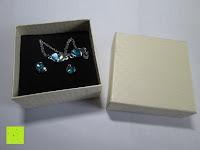 Erfahrungsbericht: Fashmond Schmuckset Schmuck-Sets eine Ohrringe, ein Armband und eine Halskette Kette mit Anhänger für Frauen Mädchen Blau aus Kristall