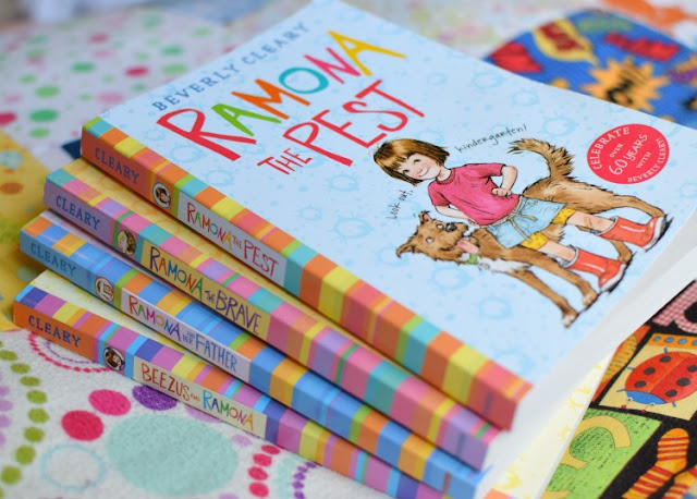 Ramona Series, part of reading roundup- favorite books from June