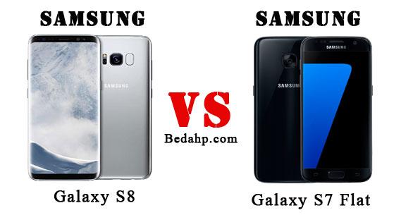 Perbedaan Samsung Galaxy S8 VS S7 Flat