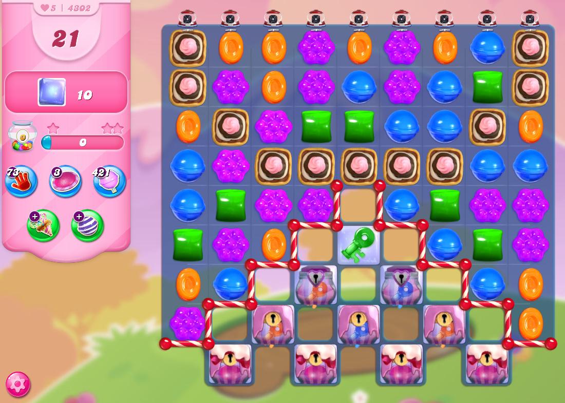 Candy Crush Saga level 4302