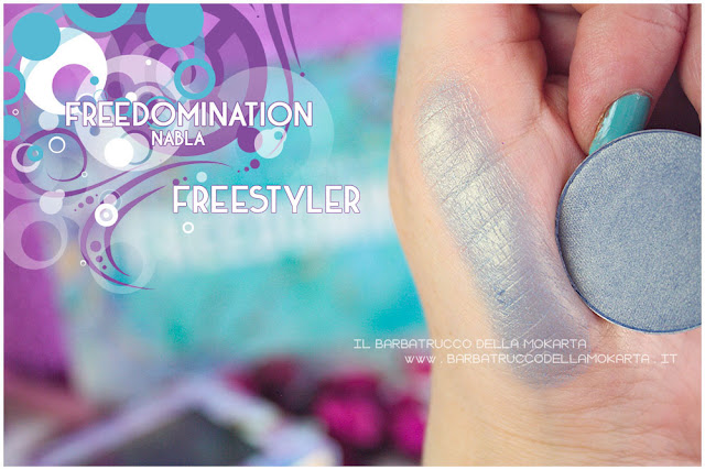 freestyler swatches nabla cosmetics freedomination collection summer eyeshadow