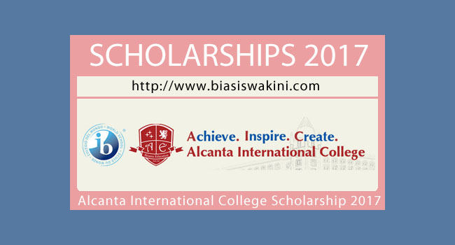 Alcanta International College Scholarship 2017