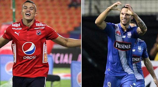 Emelec vs Medellin en vivo