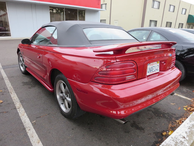 1995 Ford Mustang after paint and body work at Almost Everything Auto Body