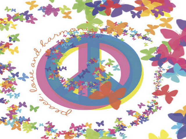 best love and peace wallpaper - photo #21