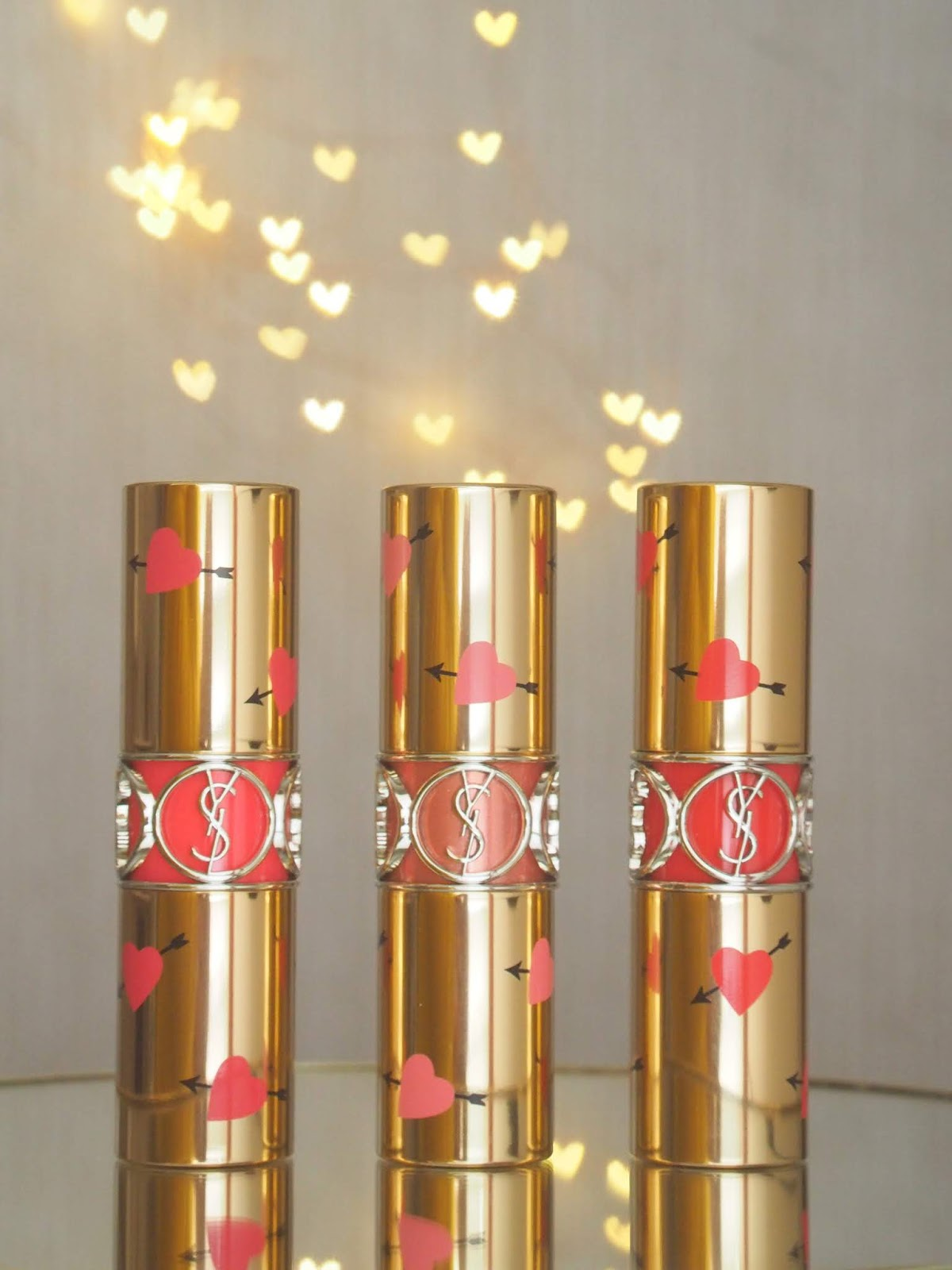 YSL Rouge Volupte Shine Heart & Arrows Collectors Edition review, photos, swatches!