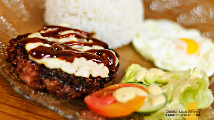 Burger Steak at Papa Rock's Burger in Marikina
