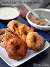 Ulundu Vadai, Urad Dal ( Black Gram ) Fritters, Medhu Vadai