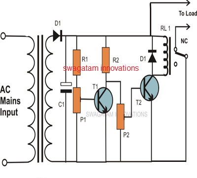 voltage protection circuit for motors