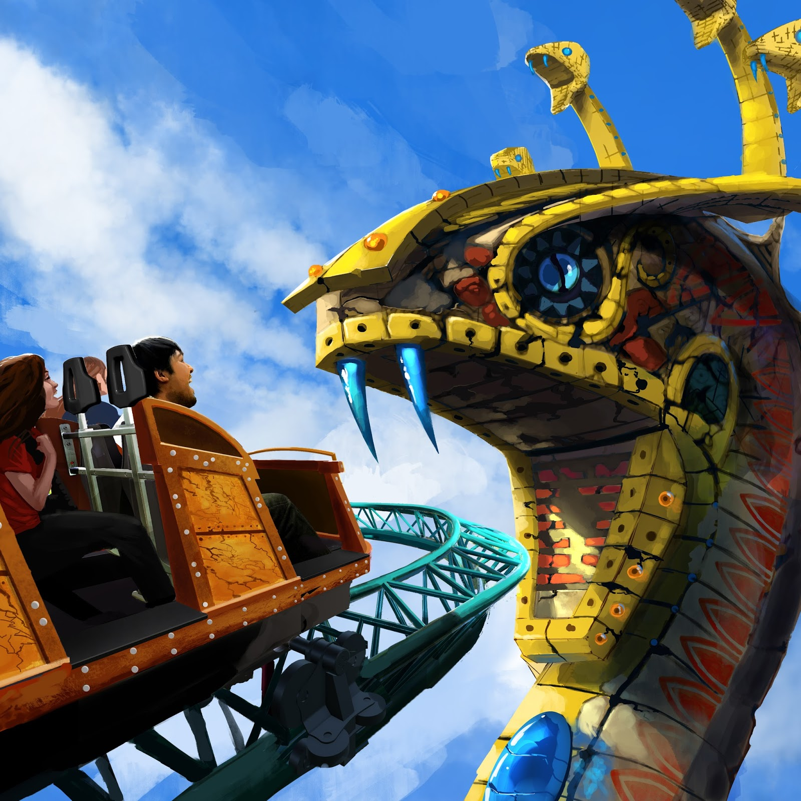 Newsplusnotes get caught in the cobra 39 s curse at busch - How far is busch gardens from orlando ...