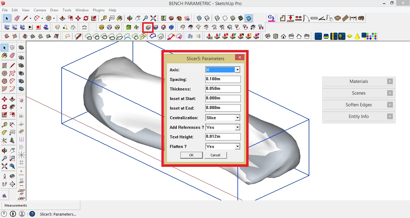 Making a Parametric Bench: Sketch-Up Modelling Tutorial