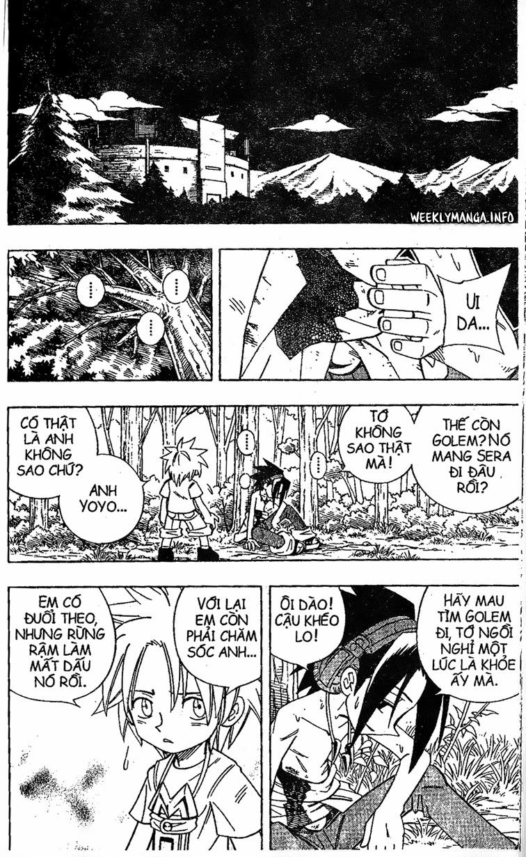 Shaman King [Vua pháp thuật] chap 195 trang 11