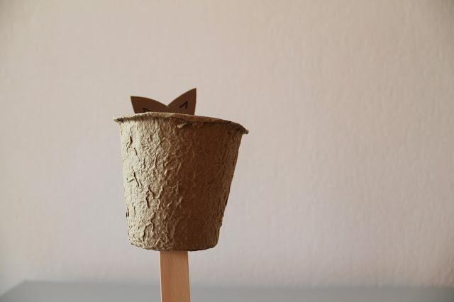 Osterhasen Versteck DIY