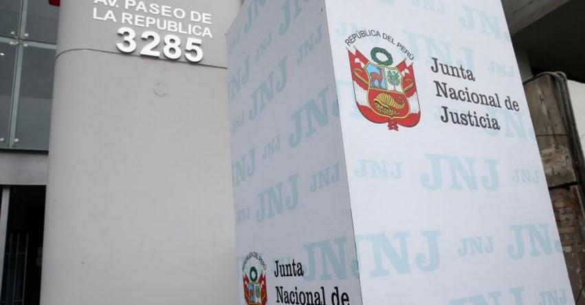 JNJ: El lunes se iniciarán pruebas de confianza en concurso para jefes de ONPE y Reniec