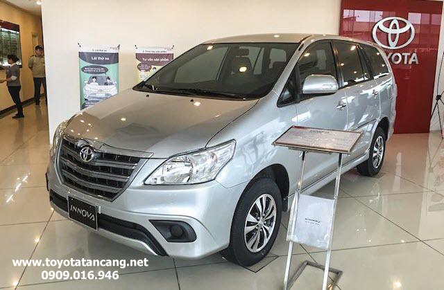 toyota innova 2015 toyota tan cang 1 - Giá xe Toyota Innova 2016 sẽ sớm được Toyota Hùng Vương cập nhật từ ngày 18.07.2016 - Muaxegiatot.vn