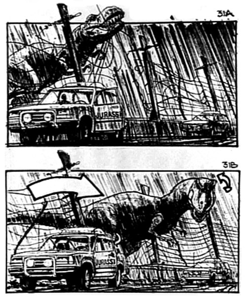 Jurassic Park 2 ADT-StoryBoards Pinterest Storyboard - film storyboards