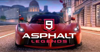 Asphalt 9 Legends Mod Apk + Data Download