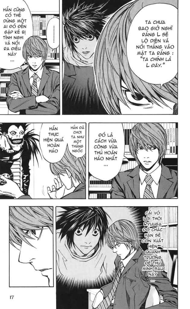 Death Note chapter 019 trang 18