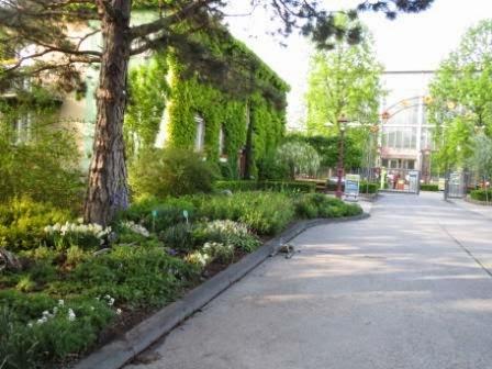 Blumengärten Hirschstetten/Eingang