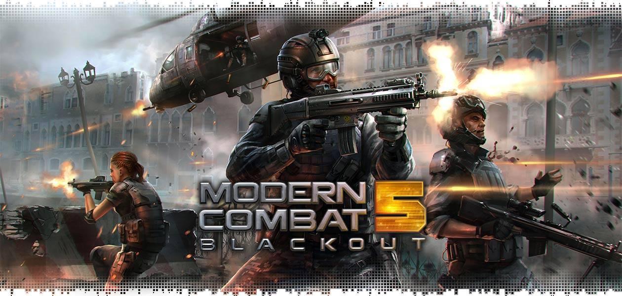 داگرتنی یاری Modern Combat 5: Blackout بۆ ئهندرۆید و ئای ئۆ ئێس