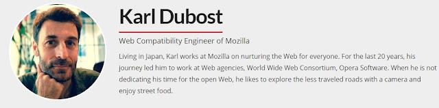 Karl Dubost Profile