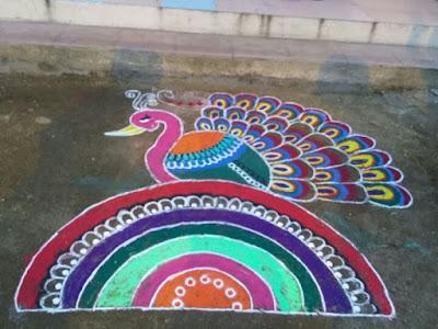 Hindu Festival Rangolis