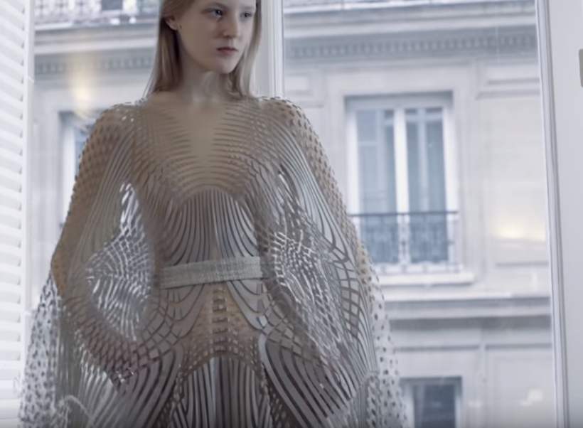 Rhino News Etc 3d Printing In The Haute Couture World