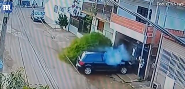 Λαμπάδα πρέπει να ανάψει ποδηλάτης που παρασύρθηκε από αυτοκίνητο που οδηγούσε 13χρονος (βίντεο)