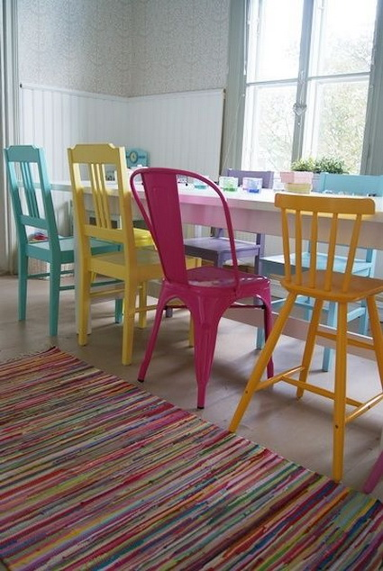 Dining Rooms With Mixed Chairs 3