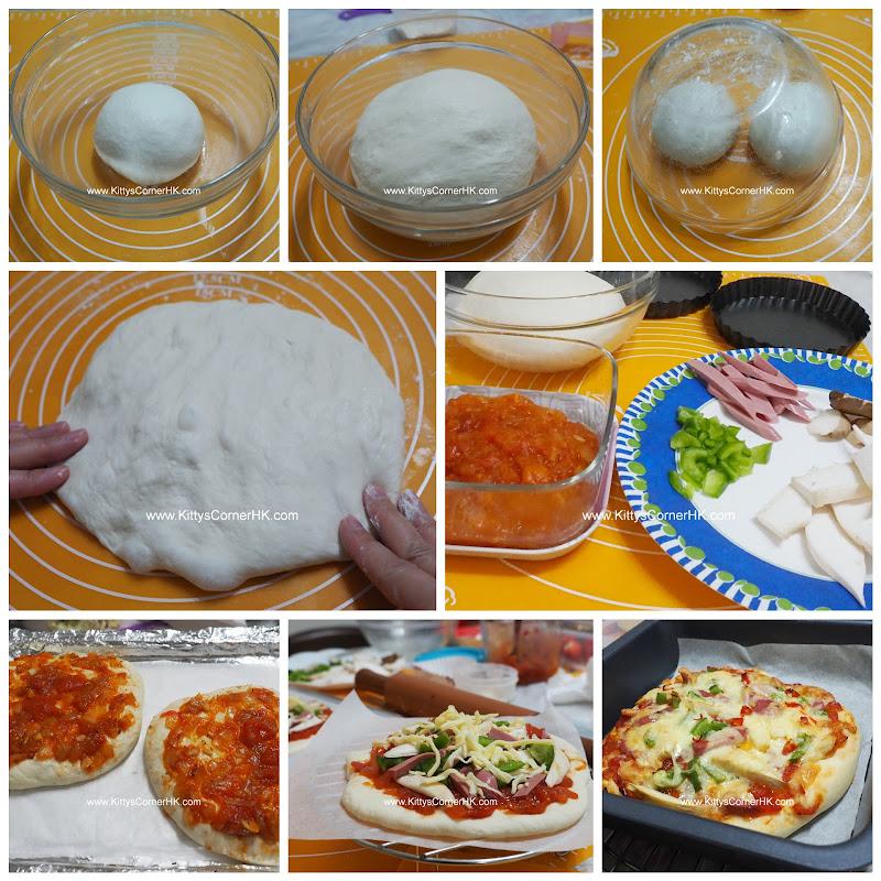Pizza DIY recipe 比薩 自家烘焙食譜