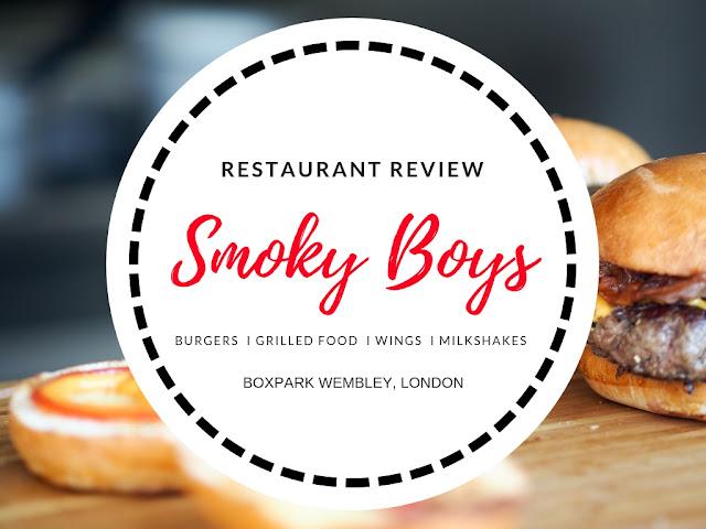 Smoky Boys Halal Boxpark Wembley