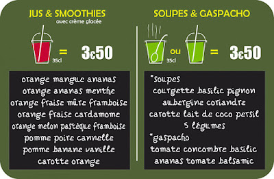Joosbayoo Jus, Smoothies et soupes