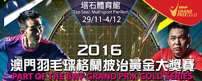 Macau Open Grand Prix Gold 2016