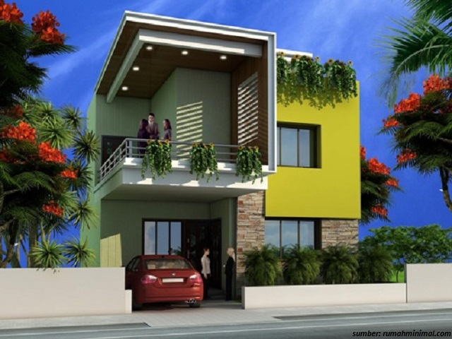 39+ Gambar Desain Depan Rumah Minimalis yang Menarik