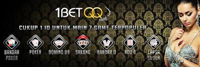 Onebetqq situs poker 7 game 1 ID