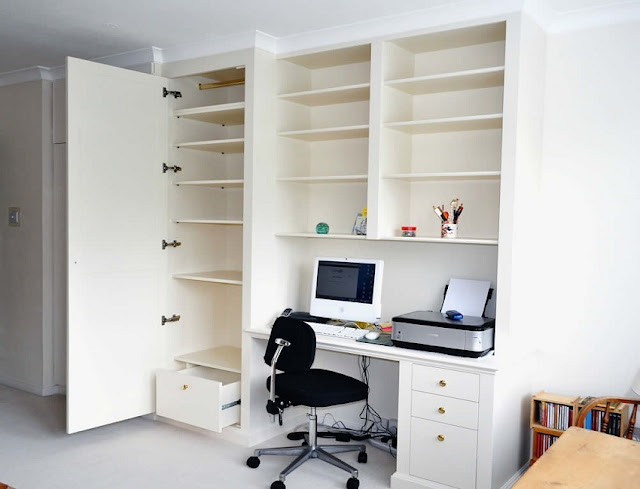 best custom home office furniture beech effect online