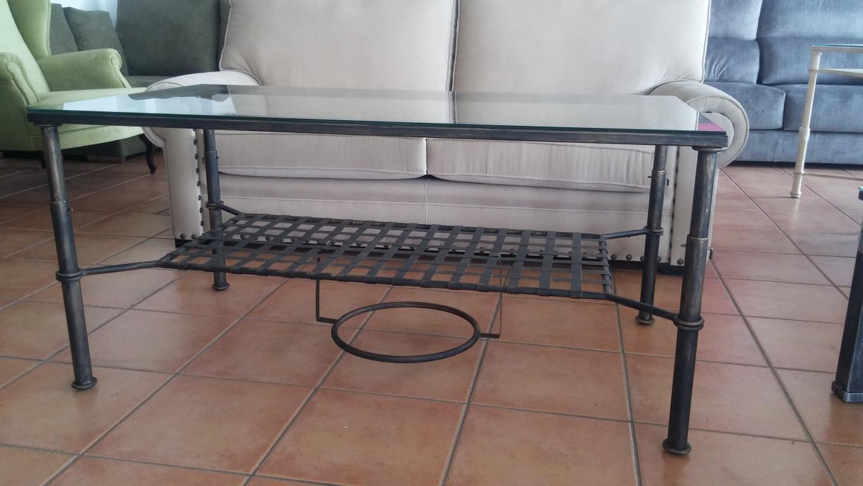 Mesas elevable y con brasero y para camilla en forja - Muebles de forja en sevilla ...